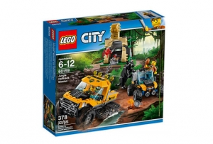 LEGO® City 60159 – Obrnený transportér do džungle