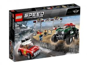 LEGO® Speed Champions 75894 - 1967 Mini Cooper S Rally a 2018 MINI John Cooper Works Buggy